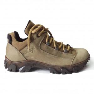 модель C – 862 (Olive) всесезонные ботинки из натуральной кожи