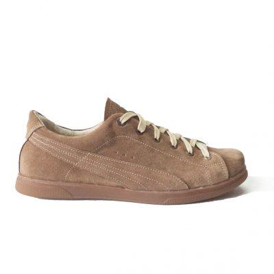 Кеды из натуральной кожи (замша) модель  C – 871 , удобная обувь на каждый день