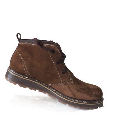Ботинки  модель C – 803 верх ботинка – натуральная замша.