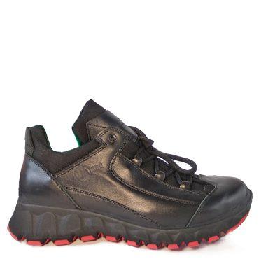 трекинговые кроссовки  модель C – 860 всесезонные из натуральной кожи.