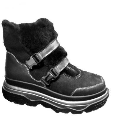 авторская работа, брендовая модель  С- 007, мода 2018 – 19 гг. – зимние ботинки для ПАНI