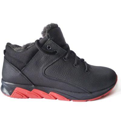 С-822 – зимние ботинки – кроссы из натуральной кожи