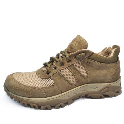 С-821 (Olive) летние треккинговые кроссовки.