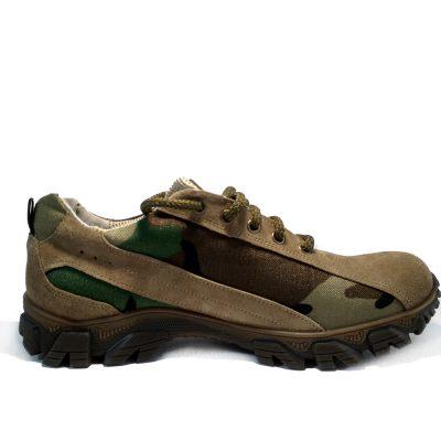 """треккинговые кроссовки из натуральной кожи ,модель С – 821. """"КАМУФЛЯЖ"""""""