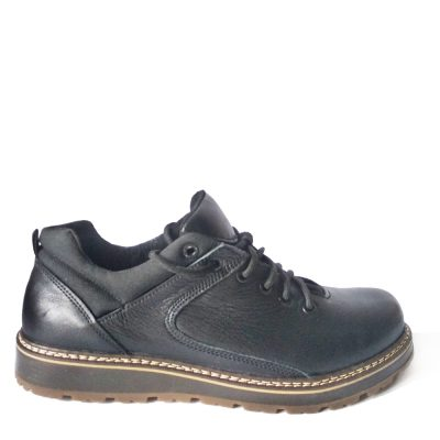 Ботинки модель C – 802(BLACK) натуральная кожа